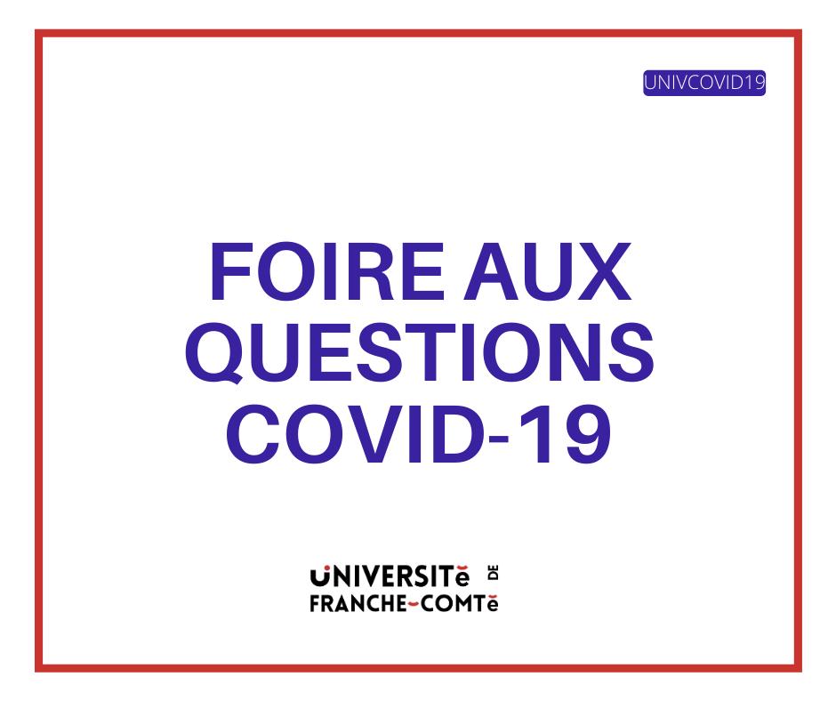 Lien FAQ Covid 19