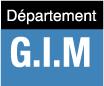 Département GIM